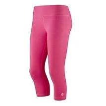 Zumba Women's Fitness Basic Capri Leggings Back To The Fuchsia, 2XL - $12.86