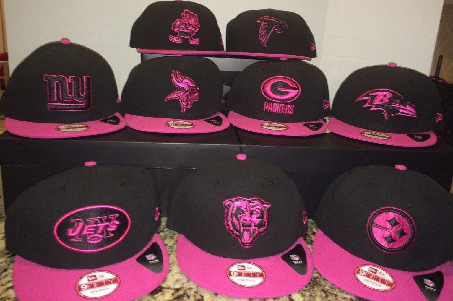 f534a7a849305 ... low price new era nfl breast cancer awareness hat jets and 50 similar  items. s ...