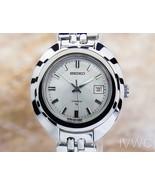 Ladies Seiko 17J 26mm Hand-Wind w/Date Dress Sports Watch, c.1960s SCX420 - $687.70