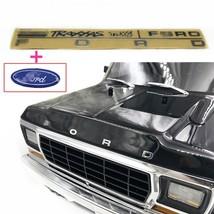 Rc Car Part Ford Metal Emblem Head Logo For 1/10 Traxxas TRX-4 TRX4 Ford Bronco - $11.10