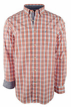 Nautica Men's Long Sleeve Plaid Classic Fit Oxford Shirt - $44.98