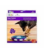 Dog Twister Interactive Toy Treat Dispenser Game Nina Ottosson Sweden Le... - $24.24