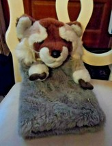 "brown racoon GOLF Club COVER by Daphne 13"" - $28.00"