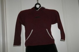 Alf Clothing Burgandy Pull Over Hoodie Sz M  Blind Dog Park City Embroid... - $14.87