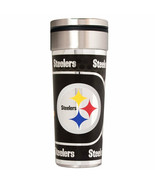 Pittsburgh Steelers 22 oz Stainless Steel Travel Tumbler Metallic Graphi... - €21,77 EUR