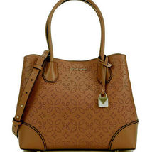 Michael Kors Acorn Leather Mercer Gallery Medium Center Zip Tote NWT $328 - $189.00