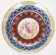 Vintage JWK Cupid Damsels Cabinet Plate Made Bavaria West Germany Rosenthal - $24.74