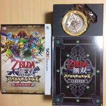 Hyrule Warriors Legends All Stars Treasure Box Limited Nintendo 3DS Wind... - $91.39