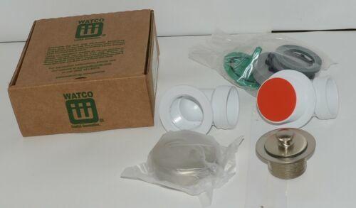 Watco 901 PP PVC BN Brushed Nickel Innovator Push Pull Half Kit