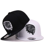 Snapback smbroidery Skull baseball caps hats hip hop flat brim bones sport - $14.99