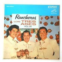 Los Tres Ases Rancheras Vinyl LP Record RCA Victor MKS-1458E Stereo - $19.01