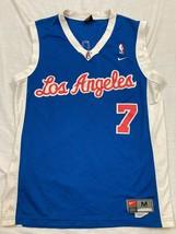 M66 RARE NIKE NBA LA Clippers Lamar Odom Swingman Blue Jersey MEN'S M - $158.37