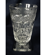 "Imperial Glass CAPE COD Iced Tea Footed Glass - 5-7/8"" tall - $8.00"