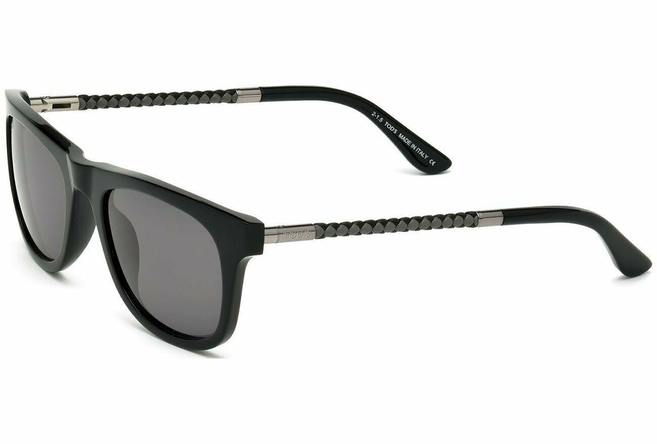 Sunglasses Tod's TO 182 TO0182 01A shiny black / smoke