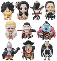 One Piece: Mascot Relief Magnet The Seven Warlords Figure (12 Pieces) Bo... - $74.99