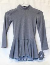 Mondor Model 4333 Skating Dress - Heather Gray - $64.99