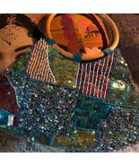 Sweet Blue Beaded Indian  Purse {Unbranded} - $13.86