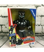 "BLACK PANTHER 10"" Playskool Heroes Marvel Super Hero Mega Mighties Action Figure - $11.87"
