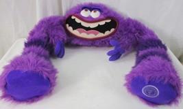 "Disney Pixar Monsters Inc University ""Art"" Purple Plush Stuffed Animal 3... - $24.74"
