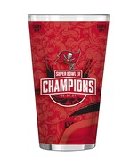 Tampa Bay Buccaneers Super Bowl LV Champions 16oz. Sublimated Pint Glass - £9.35 GBP