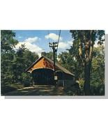 Lyndonville, Vermont/VT Postcard, Covered Bridge - $4.50