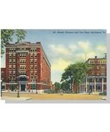 Burlington, VT Postcard, Vermont/Van Ness Hotels - $6.00
