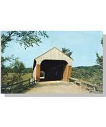 Hartland, Vermont/VT Postcard, Covered Bridge - $5.00
