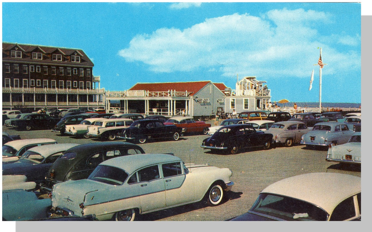 Nice Sea Bright Pavillion Postcard, New Jersey/NJ