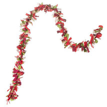 Darice Christmas Fabric Garland: Cream, 6 feet w - $13.99