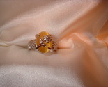 Flower ring sz 7 smaller stone front thumb155 crop