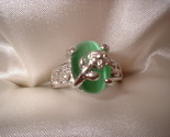 Flower green ring small stone thumb155 crop