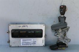 08 Jeep Liberty 3.7L 4x2 AT ECM ECU Ignition Switch Key Immobilizer P05094776AH image 4