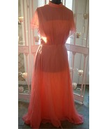 Vintage ? womens 30 40s style formal dress gown glam - $12.00