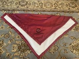 South Carolina Gamecocks Baby Blanket SECURITY Blanket ComfyFeet - $15.88