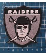 OAKLAND RAIDERS Team Logo Patch NFL Football USA Sports Jersey sew on em... - $14.99