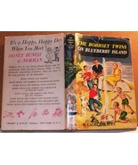 The Bobbsey Twins On Blueberry Island 1959 hcdj #10 in series first revi... - $7.50