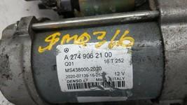 2015-2018 Mercedes-benz C300 Car Starter Motor Solenoid Oem 85272 - $93.37