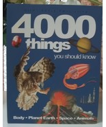 4000 Things You Should Know by John Farndon  - $14.00
