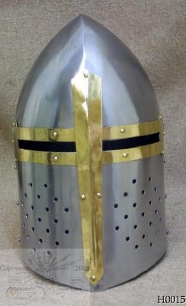 Primary image for Medieval Sugarloaf Helmet - re-enactment / larp / role-play / fancy-dress