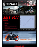 Piaggio Beverly 200 cc 6 Sigma Custom Carburetor Carb Stage 1-3 Jet Kit - $35.08