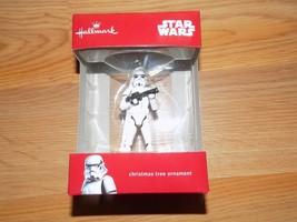 Hallmark Disney Star Wars Storm Trooper 2016 Christmas Holiday Ornament New - $17.00