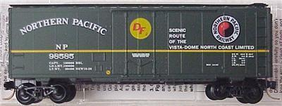 Micro Trains 21210 NP 40' Boxcar 98585
