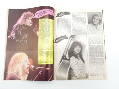 Creem Magazine Hitmakers Women Rockers of the 80s Madonna Witney Houston Bangles image 4