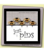 Just Bees Just Pins JP113 set 5 for pincushions JABC Just Another Button Co - $13.05