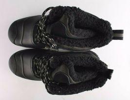 Goodfellow & Co Case Men's Black Leather Textile Faux Fur Chucka Winter Boots image 5