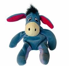 Walt Disney World Plush vtg stuffed animal Disneyland Eeyore bean bag st... - $19.25