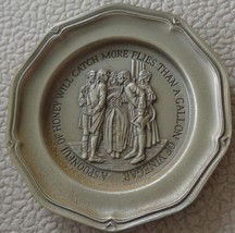 A Spoonful Of Honey... - Franklin MInt Miniature Collectible Plate - VGC BRONZE - $8.90