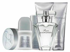 Avon Rare Diamonds Classic For Her Six Piece Gift Set - $69.28