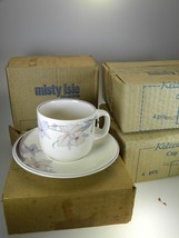 Noritake California Dreaming Cups & Saucers Set of 8 Never Used - $32.62