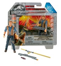 Jurassic World Fallen Kingdom Lockwood Battle Owen Figure Jurassic Park - $10.69
